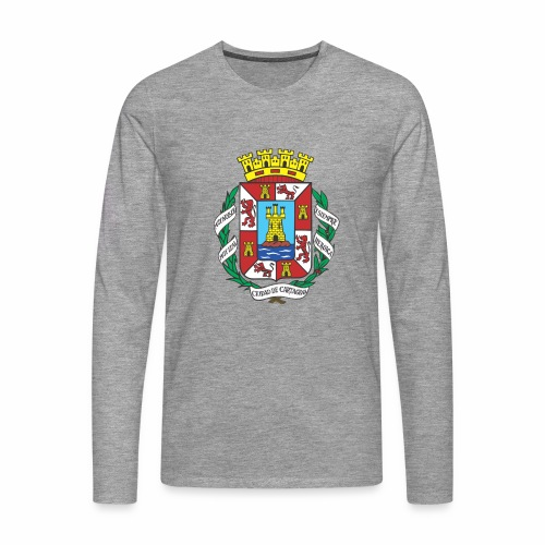 Escudo Cartagena - Camiseta de manga larga premium hombre