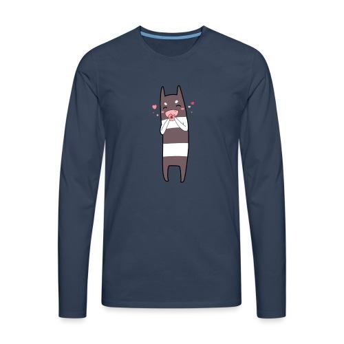 Donut Monster - Men's Premium Longsleeve Shirt