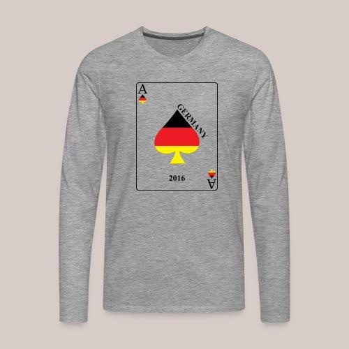 Deutschland - Männer Premium Langarmshirt