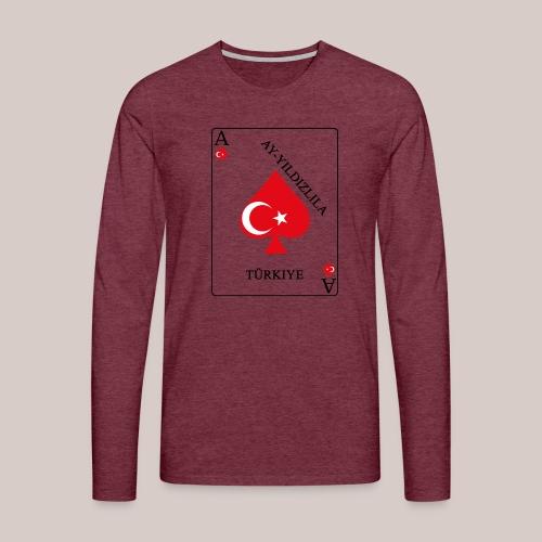 Türkei - Männer Premium Langarmshirt