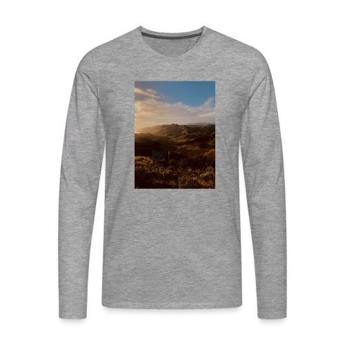 rigo poncio - Camiseta de manga larga premium hombre