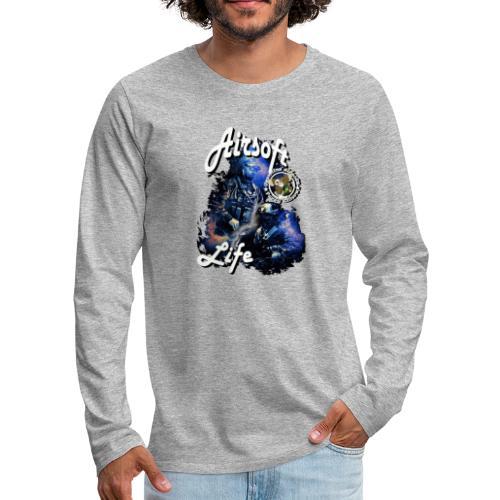 mikeairsoft - Herre premium T-shirt med lange ærmer