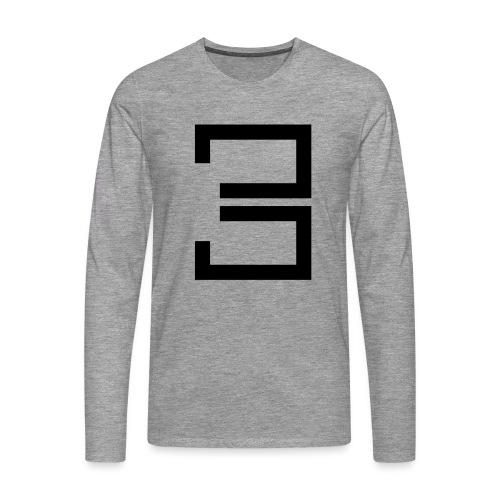 3 - Men's Premium Longsleeve Shirt