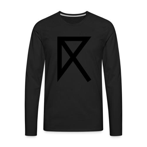 R - Men's Premium Longsleeve Shirt