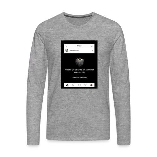 81F94047 B66E 4D6C 81E0 34B662128780 - Men's Premium Longsleeve Shirt