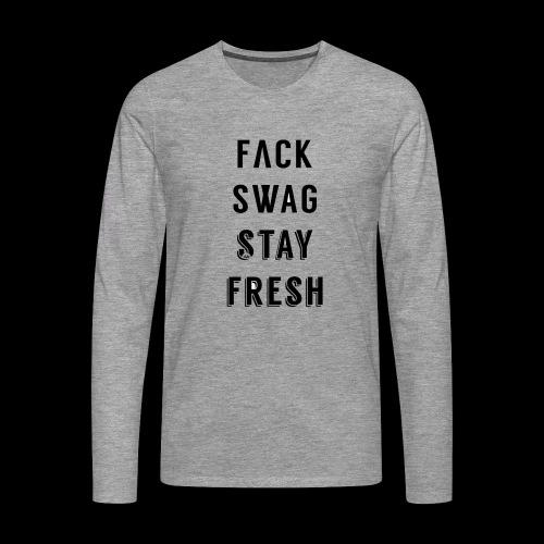 Fack Swag Tee - Camiseta de manga larga premium hombre