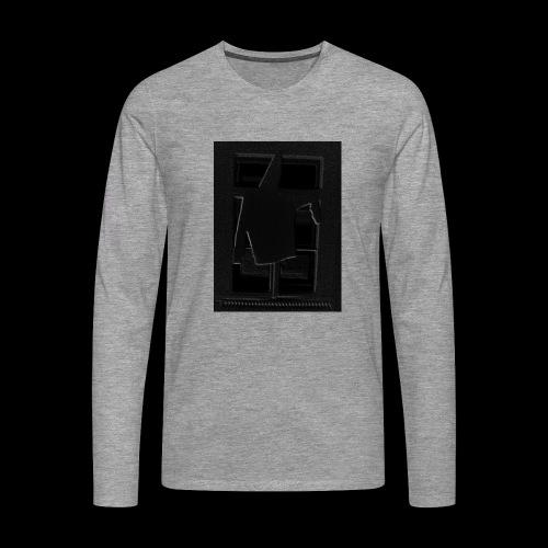 Dark Negative - Men's Premium Longsleeve Shirt