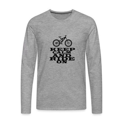 Bike - Männer Premium Langarmshirt