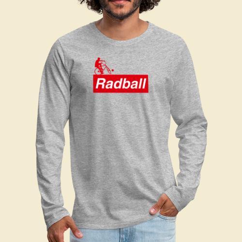 Radball | Red - Männer Premium Langarmshirt