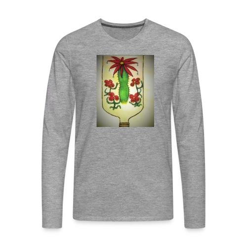 Alcoholism - Miesten premium pitkähihainen t-paita