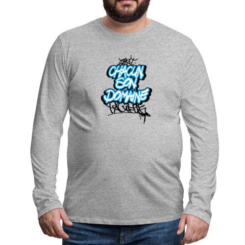 chacun son domaine - T-shirt manches longues Premium Homme