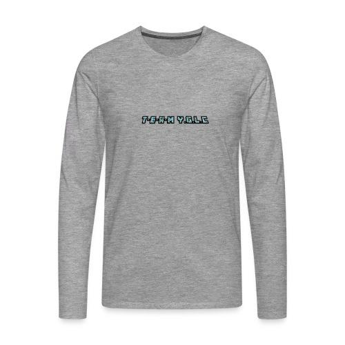 Limited Edition T-E-A-M-YGLC T-shirt - Men's Premium Longsleeve Shirt