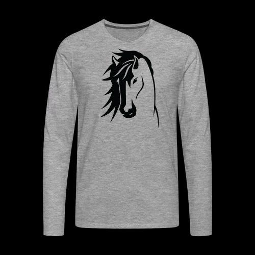 Stallion - Men's Premium Longsleeve Shirt