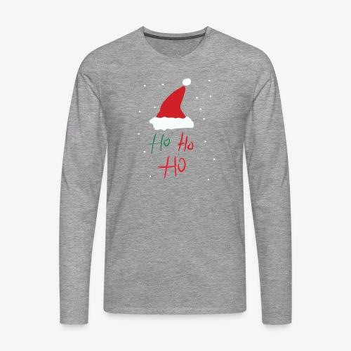 hohoho - T-shirt manches longues Premium Homme