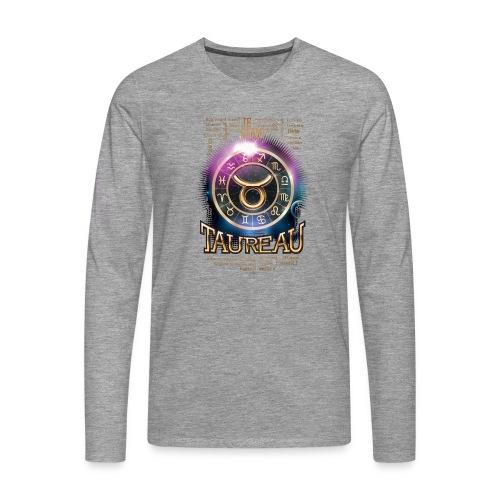 TAUREAU - T-shirt manches longues Premium Homme