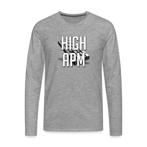 XpHighAPM - T-shirt manches longues Premium Homme