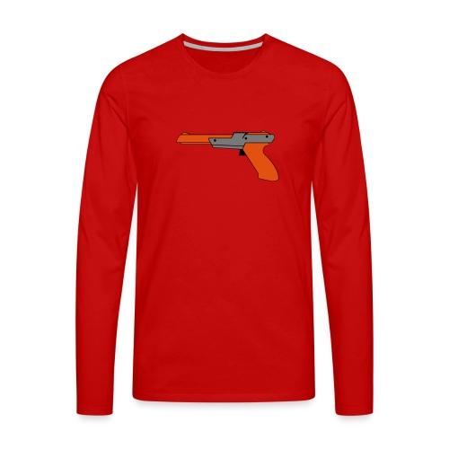 gun Zapper NES SUPER BROS HUNT DUCK - T-shirt manches longues Premium Homme