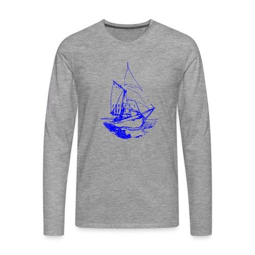 Siluette GIF - Männer Premium Langarmshirt