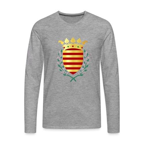 Wapenschild Borgloon - Mannen Premium shirt met lange mouwen