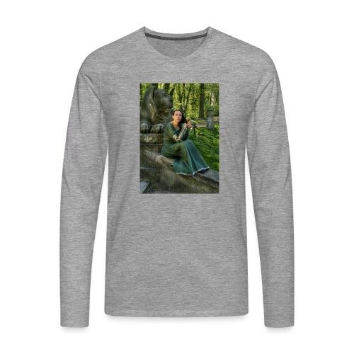 Stone Guardian - Koszulka męska Premium z długim rękawem