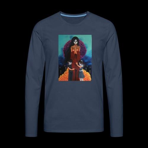 los fieles difuntos - Men's Premium Longsleeve Shirt