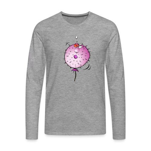 Blaasvis - Mannen Premium shirt met lange mouwen