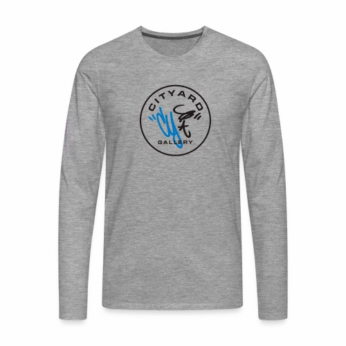 cityard org logo - Herre premium T-shirt med lange ærmer