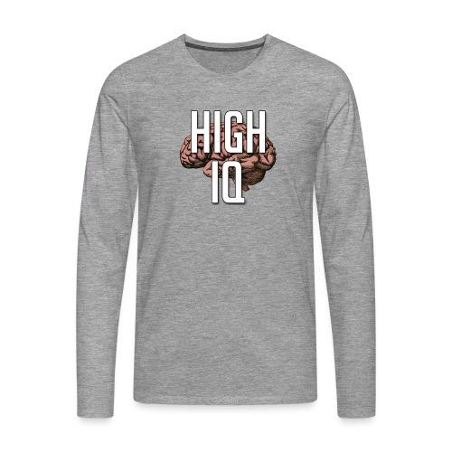 XpHighIQ - T-shirt manches longues Premium Homme