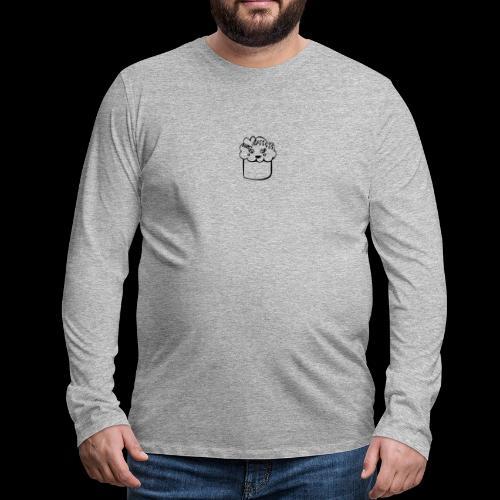 muffin herz - Männer Premium Langarmshirt
