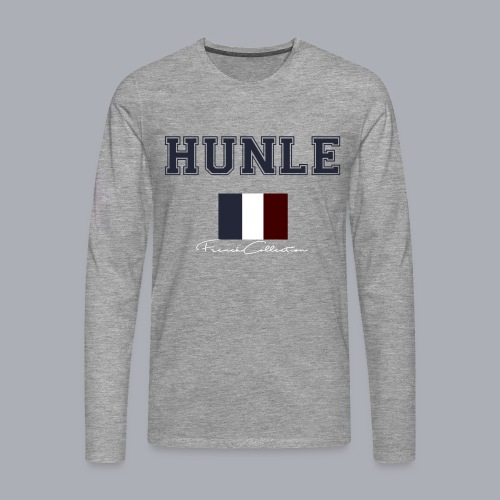 hunle French Collection n°1 - T-shirt manches longues Premium Homme