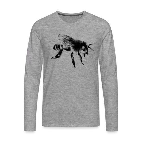 Honungsbi - Långärmad premium-T-shirt herr
