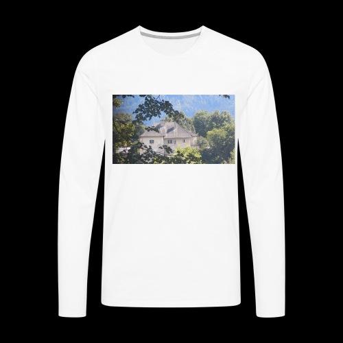 Altes Haus Vintage - Männer Premium Langarmshirt