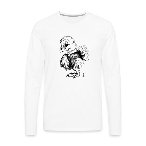Autruchon - T-shirt manches longues Premium Homme