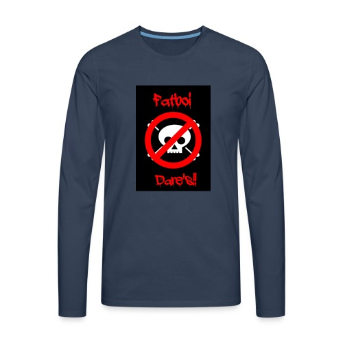 Fatboi Dares's logo - Men's Premium Longsleeve Shirt