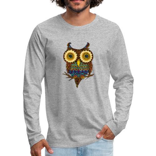 Lunette la chouette - T-shirt manches longues Premium Homme
