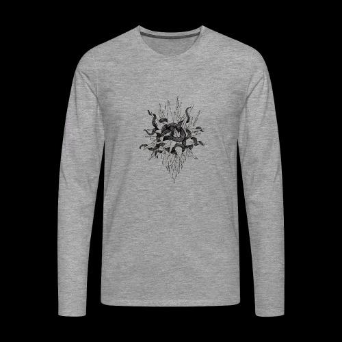 Vices et vertus - T-shirt manches longues Premium Homme