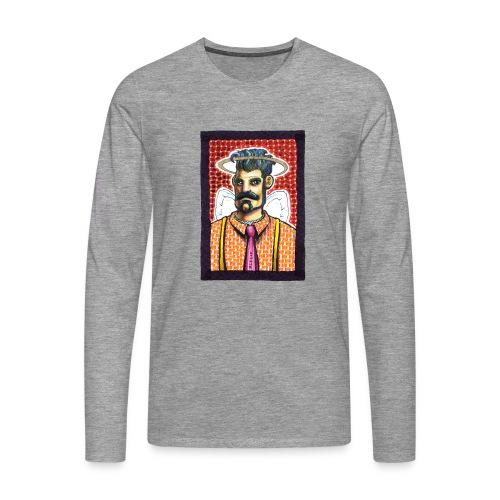 Bretello - Maglietta Premium a manica lunga da uomo