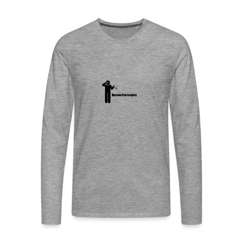 Terapista - Maglietta Premium a manica lunga da uomo