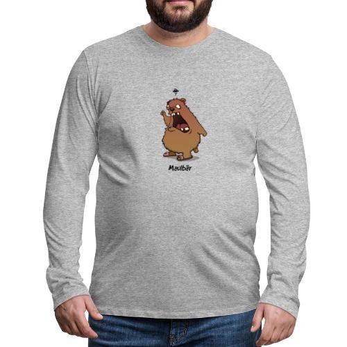 Maulbär - Männer Premium Langarmshirt