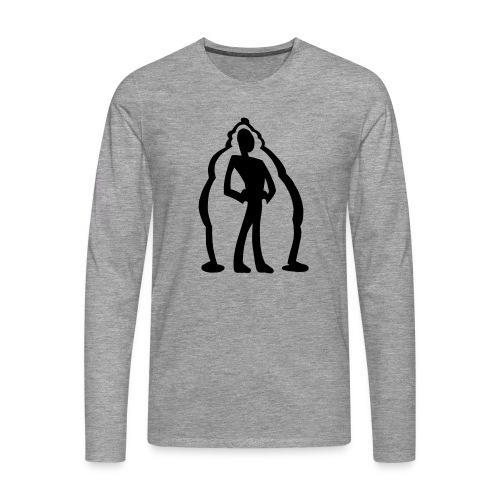 logo2 - Långärmad premium-T-shirt herr