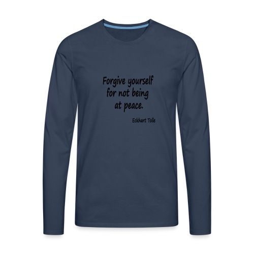 Forgive Yourself - Men's Premium Longsleeve Shirt