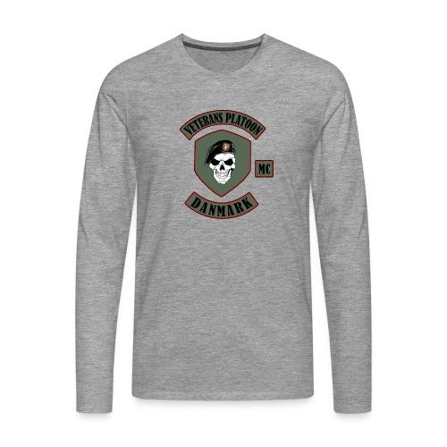 Veterans Platoon - Herre premium T-shirt med lange ærmer