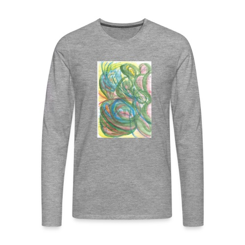 Scan 10042014 Seltenes Insekt - Männer Premium Langarmshirt