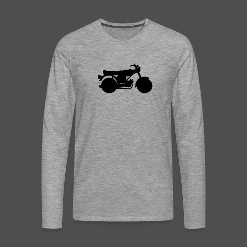Moped 0MP01 - Männer Premium Langarmshirt