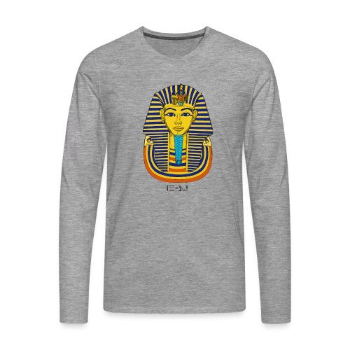 Pharao Tutanchamun - Männer Premium Langarmshirt
