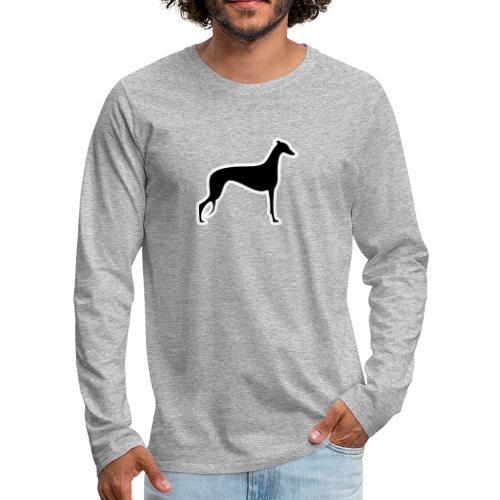 Greyhound - Männer Premium Langarmshirt