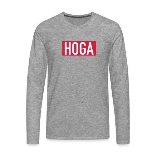 HOGAREDBOX - Premium langermet T-skjorte for menn