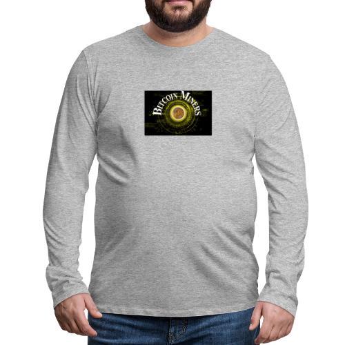 Bitcoin Miners - Männer Premium Langarmshirt
