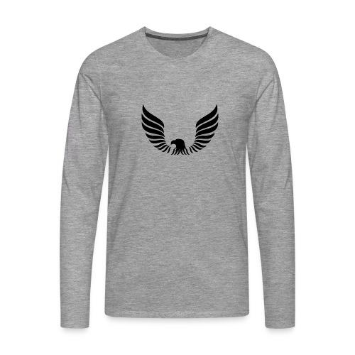 Aguila - Camiseta de manga larga premium hombre
