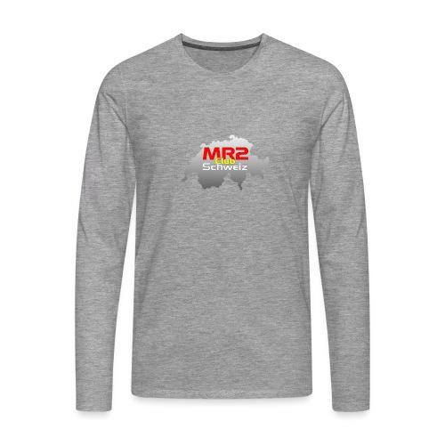 Logo MR2 Club Logo - Männer Premium Langarmshirt